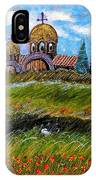 Monastery In Greece IPhone Case