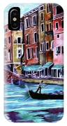 Monday In Venice IPhone Case