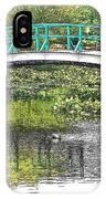 Monet Bridge IPhone Case