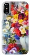 Monet Floral Edged IPhone Case