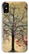 Monet Splashed Petals IPhone Case