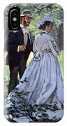 Monet's Bazille And Camille IPhone Case