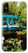 Monet's Garden IPhone Case