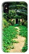 Monet's Gardens At Giverny IPhone Case