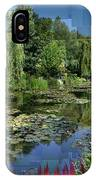 Monet's Lily Pond At Giverny IPhone X Case