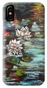 Monet's Pond With Lotus 1 IPhone Case