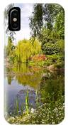 Monet's Water Garden 2 At Giverny IPhone Case