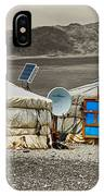 Mongolian Yurts IPhone Case