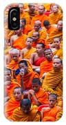 Monk Mass Alms Giving IPhone Case
