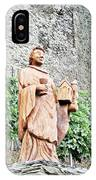 Monk Of St Goar IPhone Case