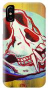 Monkey Skull IPhone Case