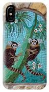 Monkey's Mosiac 02 IPhone Case