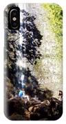 Monoa Waterfall  IPhone Case