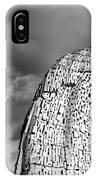Monochrome Kelpies IPhone Case