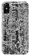 Monochrome Winter Wilderness IPhone Case