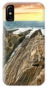 Montana De Oro Shore IPhone Case