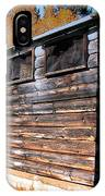 Montana Outhouse 03 IPhone Case