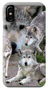 Montana Wolf Pack IPhone Case
