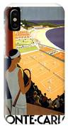 Monte-carlo - Travel Poster For Plm - 1930 IPhone Case