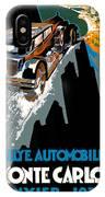 Monte Carlo Rallye Automobile IPhone Case