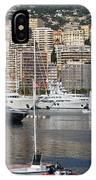 Monte Carlo Sailing - Monaco French Riviera IPhone Case