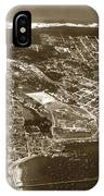 Aerial Of Monterey And Pacific Grove  California Oct. 25 1934 IPhone Case
