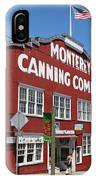 Monterey Cannery Row California 5d25045 IPhone Case