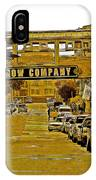 Monterey Cannery Row Company IPhone Case