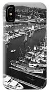 Monterey Marina With Fishing Boats In Slips Sept. 4 1961  IPhone Case