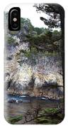 Monterey Rock Pines And Cypress IPhone Case