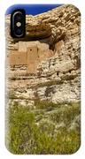 Montezumas Castle 14 IPhone Case