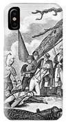 Montgomerys Death, 1775 IPhone Case