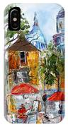Montmartre Paris IPhone Case