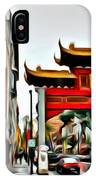 Montreal China Town IPhone Case