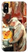 Montreal Market Scene Marche Atwater IPhone Case