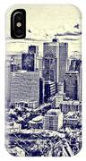 Montreal Skyline From Mount Royal Two IPhone X Case