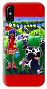 Moo Cow Farm IPhone Case