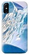Moody Blues Iceberg Closeup In Saint Anthony Bay-newfoundland-canada IPhone Case
