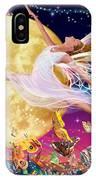 Moon Fairy Variant 1 IPhone Case