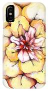 Moon Flower Out Of The Bloomers And Onto The Bloom IPhone Case