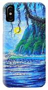 Moonlight Path To Paradise IPhone Case