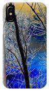Moonlit Frosty Limbs IPhone Case