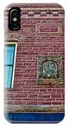 Moore Block-1896 With Gargoyle-like Features In Pipestone-minnesota  IPhone Case