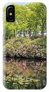 Moore State Park Water Reflections IPhone Case