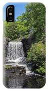 Moore State Park Waterfall 3 IPhone Case