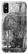 Moored Ships At Fort Regent,  St IPhone Case