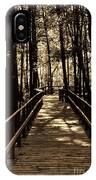 Moores Creek Battlefield  Nc Swam Bridge  IPhone Case
