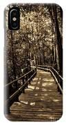 Moores Creek Battlefield Nc Swamp Walk  IPhone Case