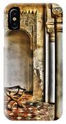 Moorish Chair And Alcove At The Alhambra IPhone Case