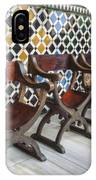 Moorish Tile Work At The Alhambra IPhone Case